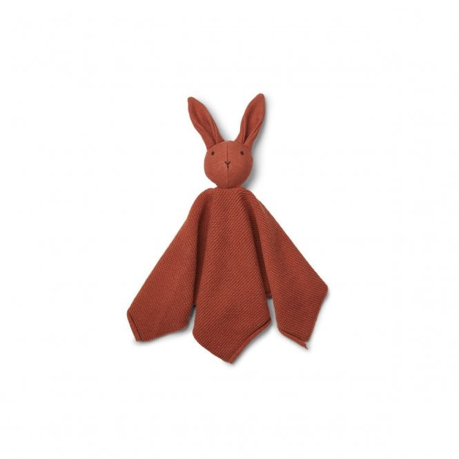 LIEWOOD MILO KNIT RABBIT COMFORTER CUDDLE TOY