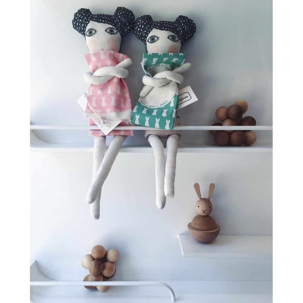 COTTON DOLL WITH DIY DRESS