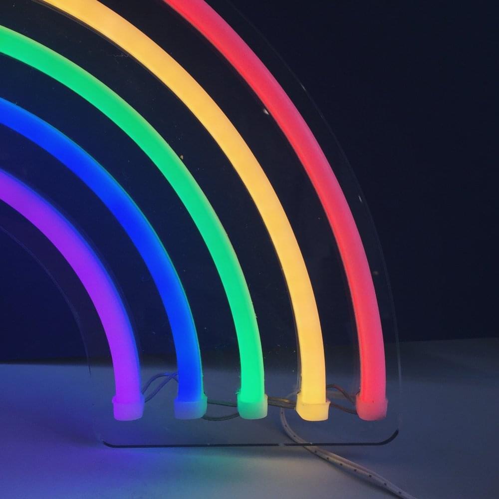 Sunnylife rainbow neon wall light interiors from molly meg uk rainbow neon wall light aloadofball Image collections