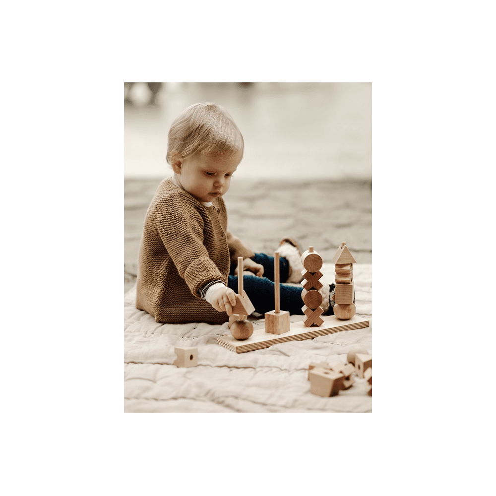 wooden stacking toy xl